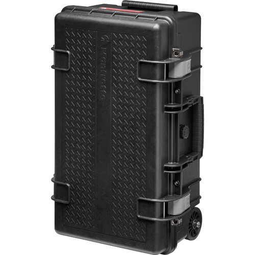 Manfrotto Pro Light Reloader Tough-55 High Lid Carry-On Camera Rollerbag Black