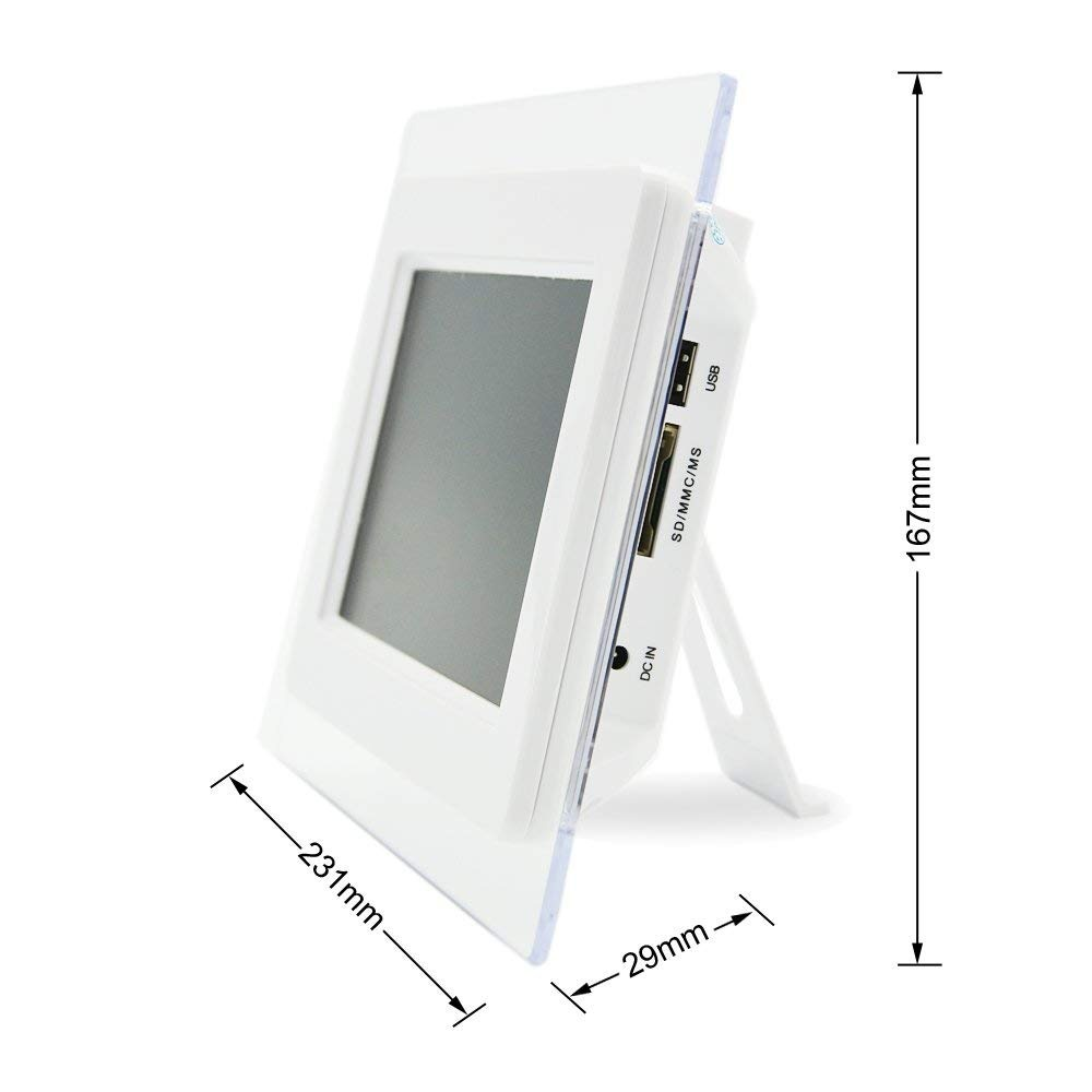 7Inch Widescreen Digital Photo Frame