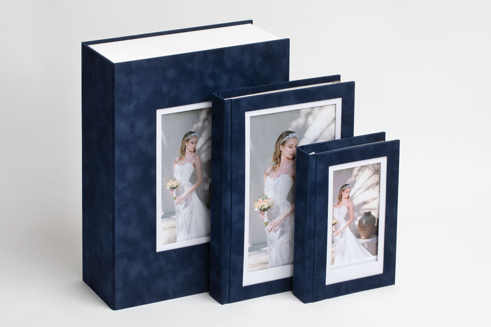 GIFT ALBUM DARK BLUE-A4-999165H