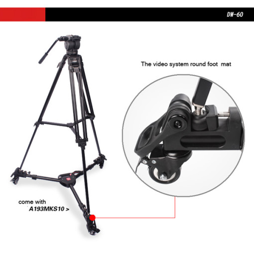 DIAT Tripod Dolly DW60