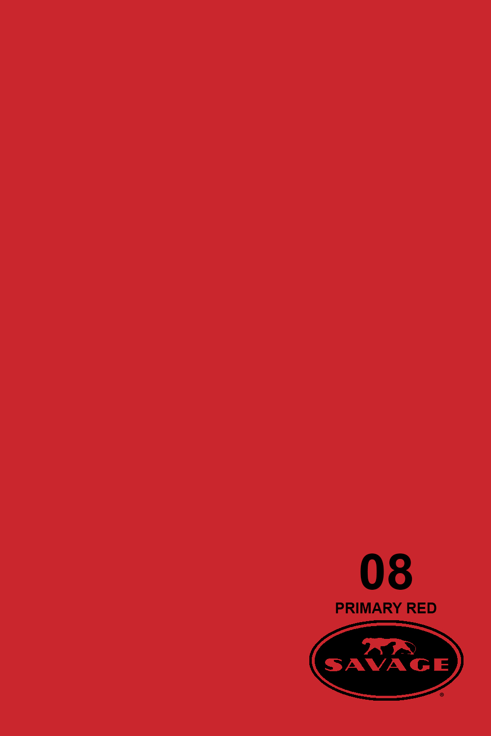 Primary Red Seamless Paper 2.72X11mm