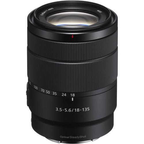 Sony E 18-135mm f/3.5-5.6 Lens