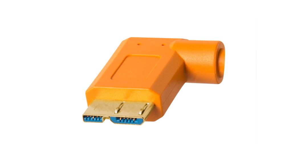 TetherPro USB 3.0 to Micro-B Right Angle