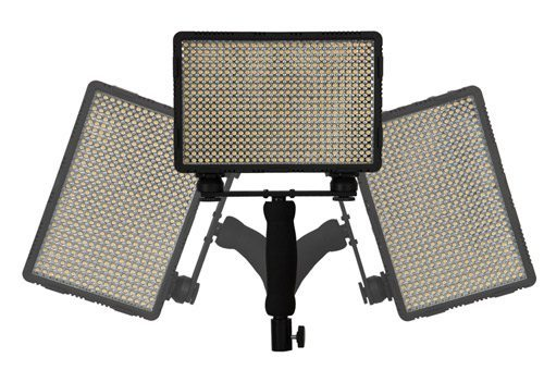 Nanguang LED CN-5400 PRO Kit With Light Stand 3 X LED Light 23cm X 20cm