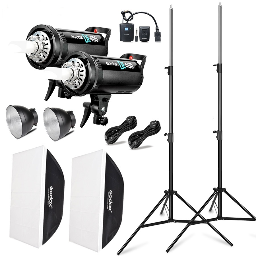 Godox DE400 400W Compact Studio Flash Light kit