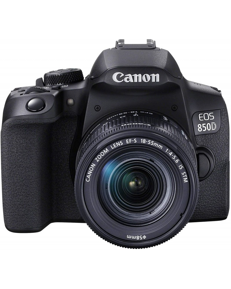 Canon EOS 850D DSLR Camera with 18-55mm f/4-5.6 IS STM Lens