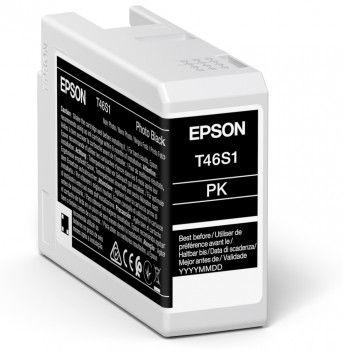 Epson T46S1 Photo Black Ink Cartridge (25ml) C13T46S100