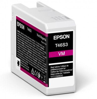 Epson T46S3 Vivid Magenta Ink Cartridge (25ml) C13T46S300