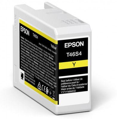 Epson T46S4 Yellow Ink Cartridge (25ml) C13T46S400