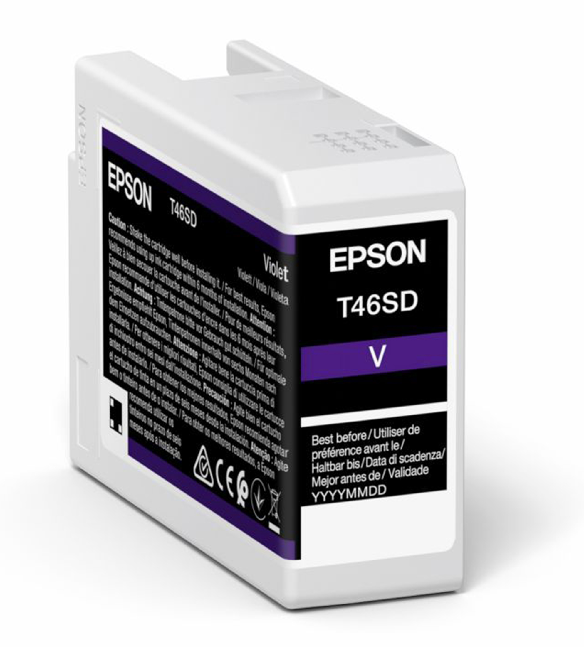 Epson T46SD Violet Ink Cartridge (25ml) C13T46SD00