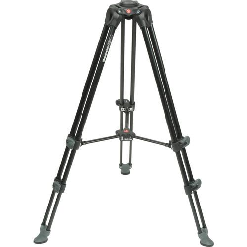 Manfrotto MVT502AM Aluminum Telescopic Twin Leg Video Tripod