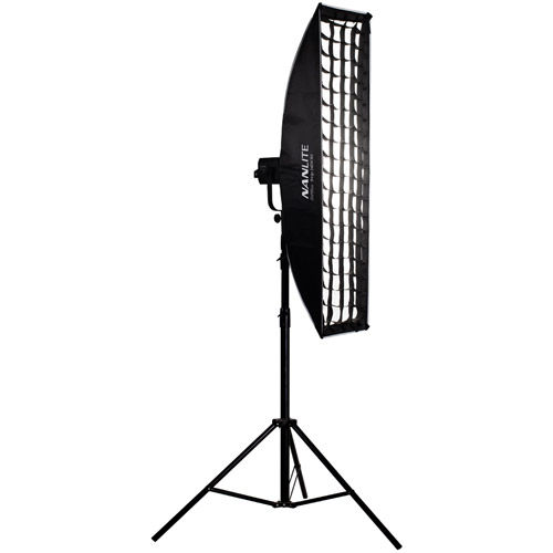 Nanlite Strip Softbox of 30x140 cm with Grid