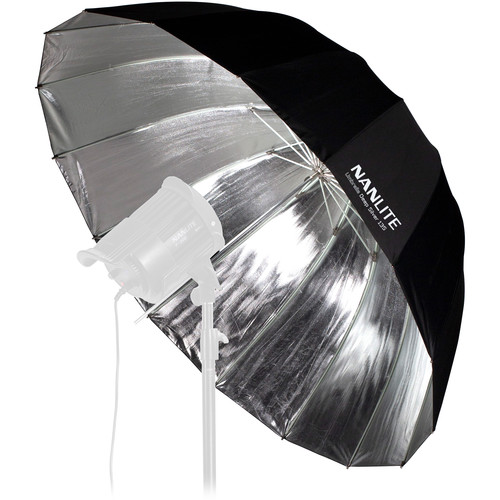 "Nanlite Deep Umbrella 135 (Silver, 53"")"