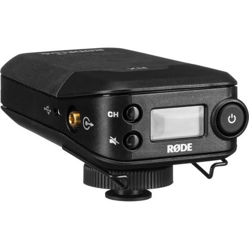 Rode RODELink Filmmaker Kit Digital Camera-Mount Wireless Omni Lavalier Microphone System 2.4 GHz