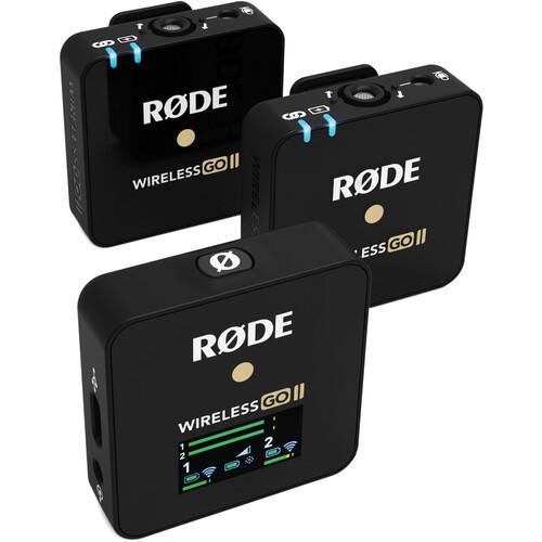 Rode Wireless GO II Digital Wireless Microphone System