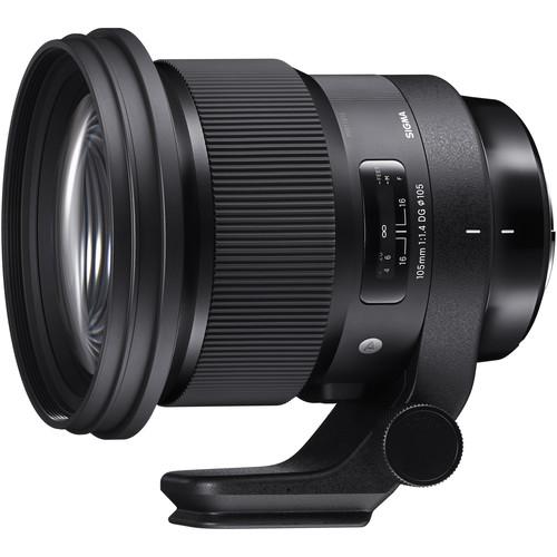 Sigma 105mm f/1.4 DG HSM Art Lens for Nikon F