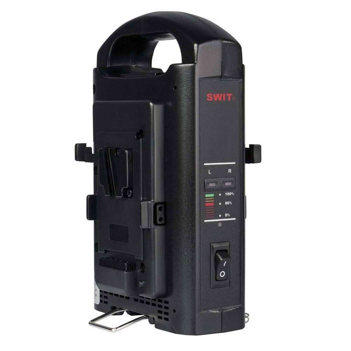 SWIT SC-302S V-Mount Charger (2-Ch Sequential)