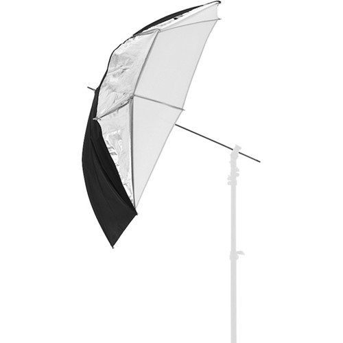 "Lastolite All-In-One Umbrella (Silver/White, 99cm"")"